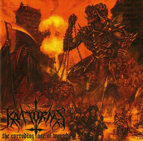 Kratornas – The Corroding Age Of Wounds CD