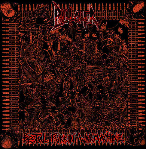 Butcher – Bestial Fukkin' Warmachine LP