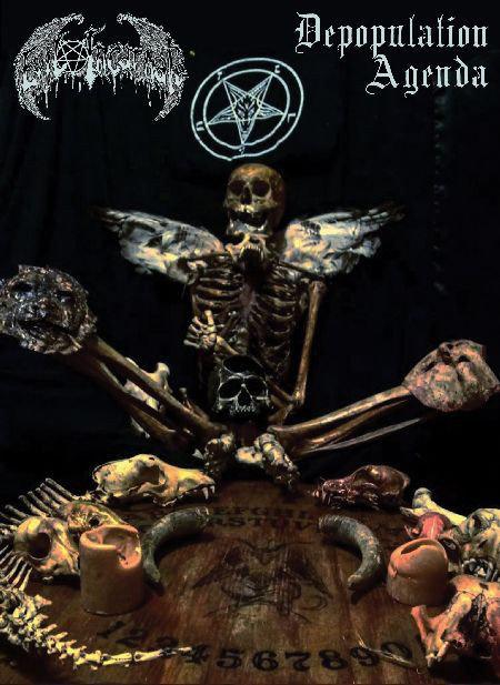 Evil Incarnate - Depopulation Agenda A5 DIGI-CD
