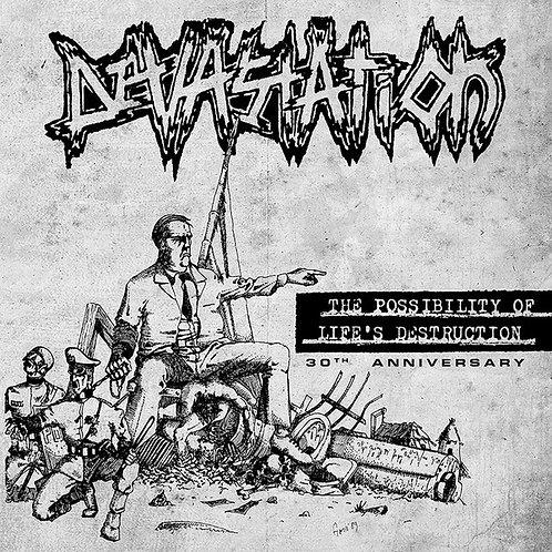 Devastation  – The Possibility Of Life's Destruction LP
