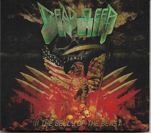 Dead Sleep - In The Belly Of The Beast DIGI-CD