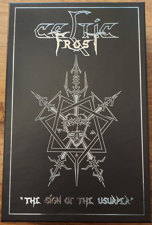 Celtic Frost - The Sign of the Usurper 6 TAPE BOX