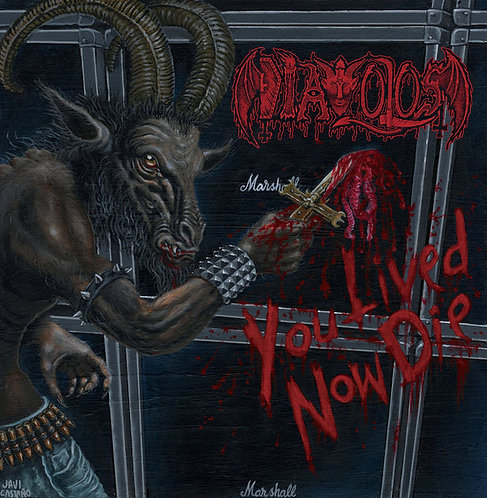 Diavolos ‎– You Lived Now Die CD