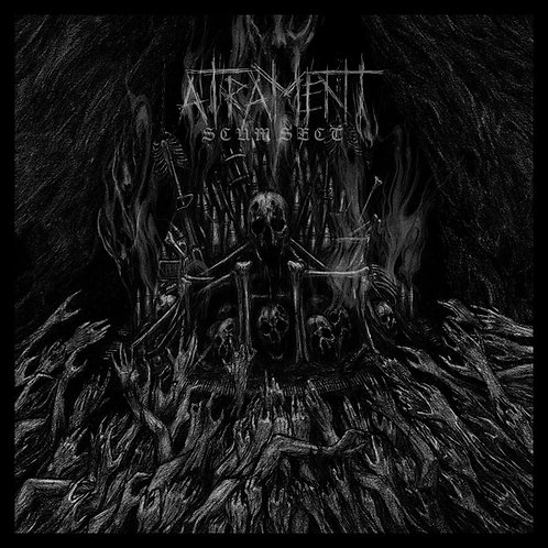 Atrament - Scum Sect LP (Red Vinyl)