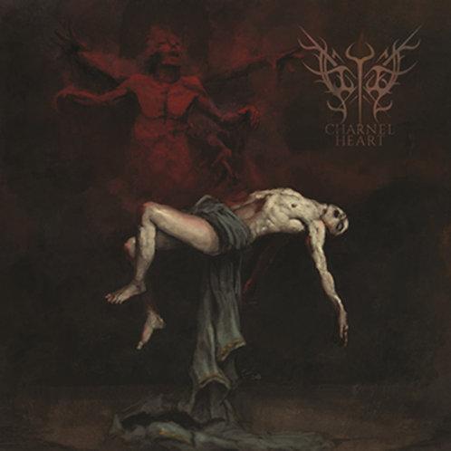 Flykt - Charnel Heart LP (Dark Red/Black Splatter Vinyl)