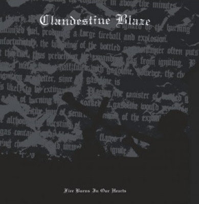 Clandestine Blaze ‎– Fire Burns In Our Hearts LP