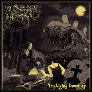Graveyard Ghoul ‎– The Living Cemetery LP
