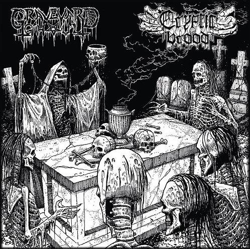 Graveyard Ghoul / Cryptic Brood – The Graveyard Brood CD