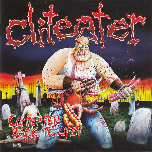 Cliteater - Cliteaten Back to Life CD (KS)
