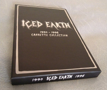Iced Earth - 1990-1996 Cassette Collection 4xTAPE BOX