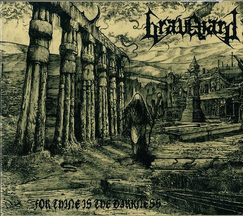 Graveyard - ...for Thine is the Darkness CD (KS)