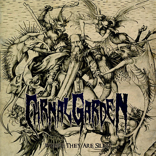 Carnal Garden – Where They Are Silent CD