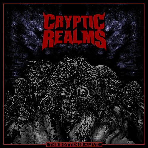 Cryptic Realms ‎– The Rotten Is Alive TAPE