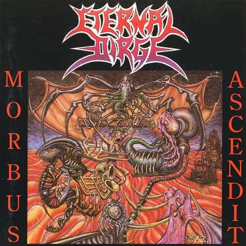 Eternal Dirge - Morbus Ascendit CD