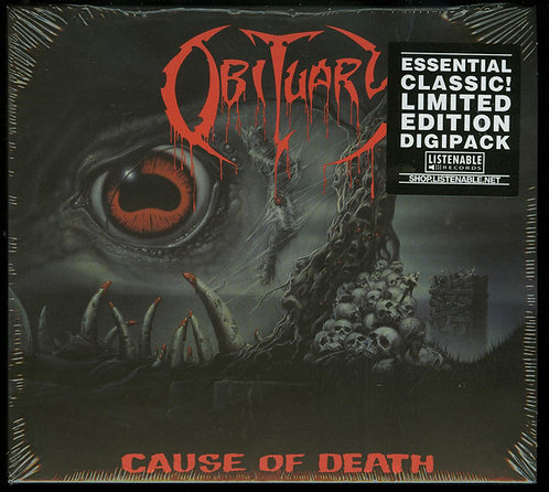 Obituary - Cause Of Death DIGI-CD