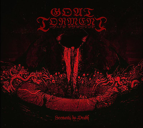 Goat Torment ‎– Sermons To Death LP Red