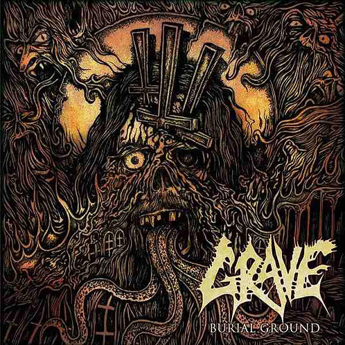 Grave - Burial Ground CD