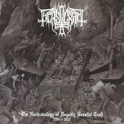 Beastcraft - The Necronology of Ungodly Beastial Craft CD