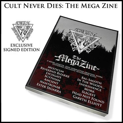 Cult Never Dies - The Mega Zine BOOK