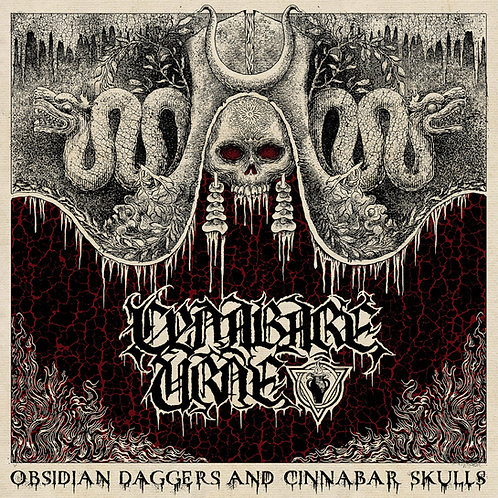 Cynabare Urne - Obsidian Daggers and Cinnabar Skulls LP/CD/MC BUNDLE (PRE-ORDER)