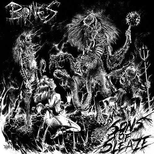 Bones ‎– Sons Of Sleaze LP