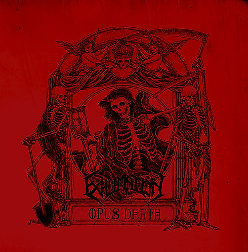 Exhumation – Opus Death LP