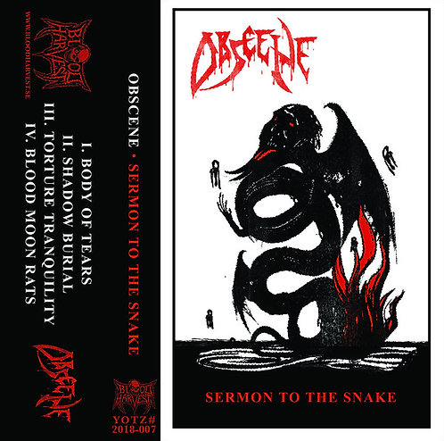Obscene - Sermon to the Snake TAPE