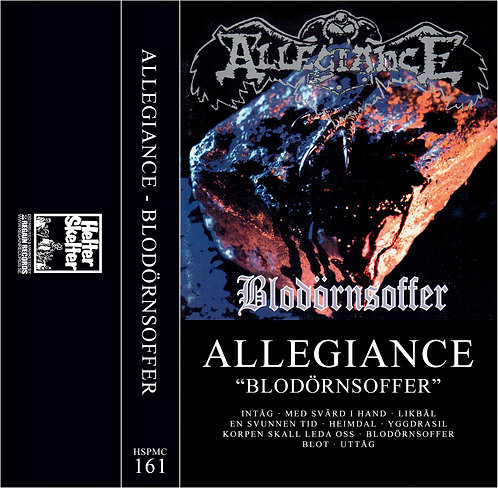 Allegiance - Blodörnsoffer TAPE (Silver Tape)