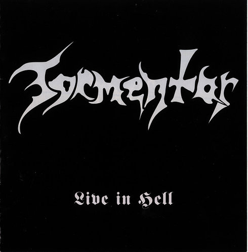 Tormentor - Live In Hell CD