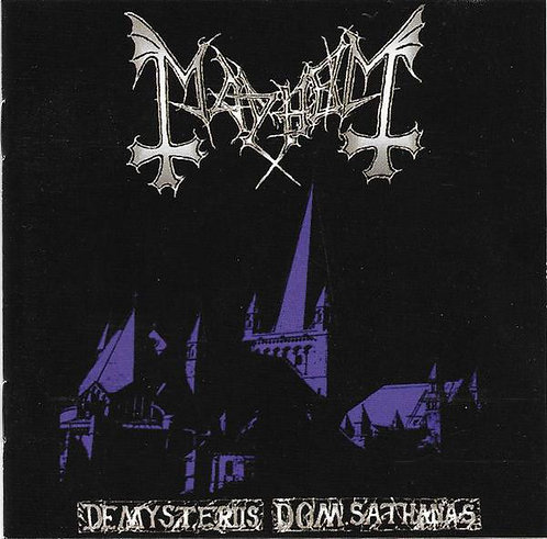 Mayhem - De Mysteriis Dom Sathanas CD