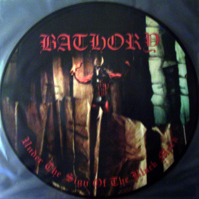 Bathory - Under the Sign of the Black Mark PIC-LP