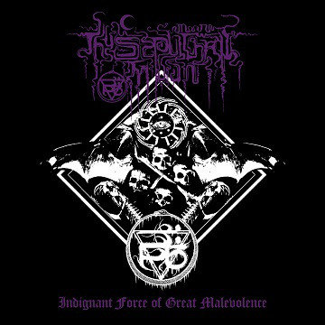Thy Sepulchral Moon ‎– Indignant Force Of Great Malevolence LP (Black Vinyl)