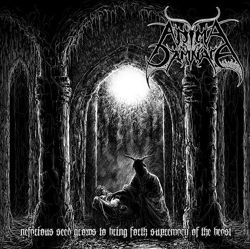 Anima Damnata – Nefarious Seed Grows To Bring Forth Supremacy Of The Beast CD