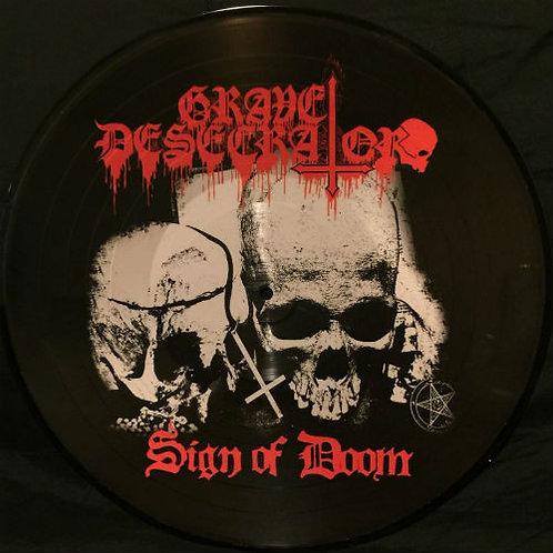 Grave Desecrator – Sign Of Doom PIC-LP