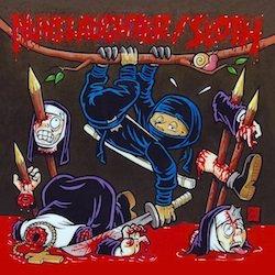 """Nunslaughter / Sloth - Split PIC 7""""EP"""