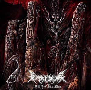 Temple Nightside - Pillars of Damnation CD