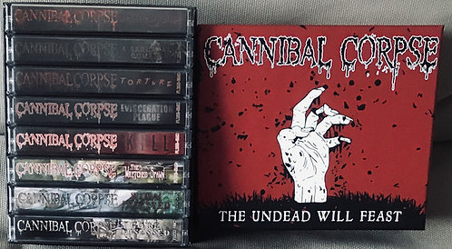 Cannibal Corpse - The Undead Will Feast 8xTAPE BOX