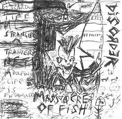 "Disorder / Agathocles - Massacre Of Fish / Total Braindead 10"" EP"
