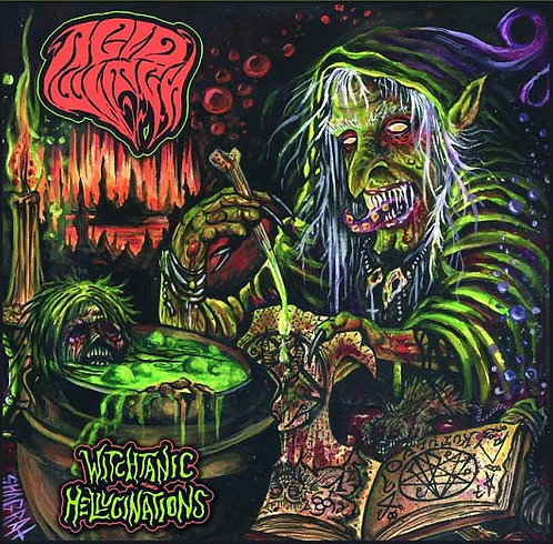 Acid Witch – Witchtanic Hellucinations DIGI-CD