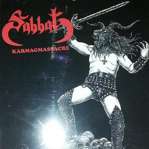 Sabbat - Karmagmassacre CD