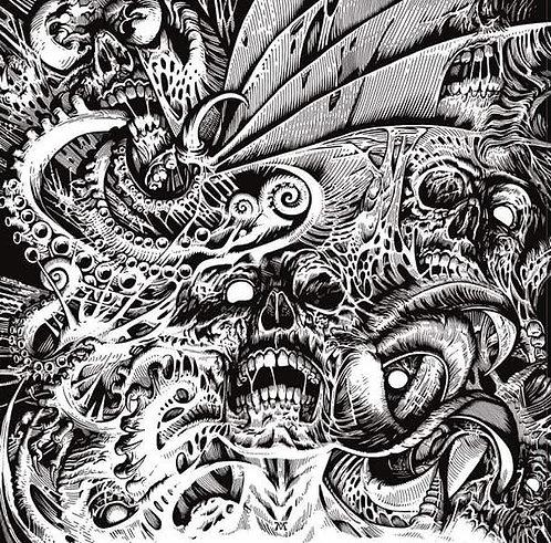 Entrapment - Imminent Violent Death LP (White Vinyl)