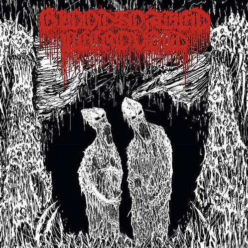 Bloodsoaked Necrovoid ‎– The Apocryphal Paths CD