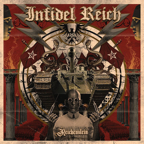 Infidel Reich - Reichenstein CD/LP/TAPE BUNDLE