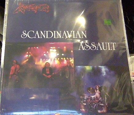 Venom - Scandinavian Assault LP (White/Pink Splatter Vinyl)