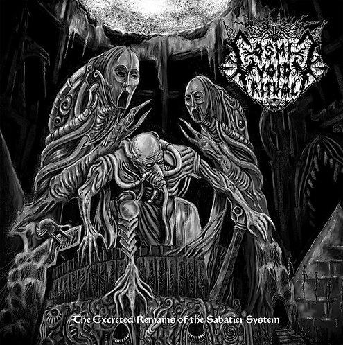 Cosmic Void Ritual ‎– The Excreted Remains Of The Sabatier System MCD
