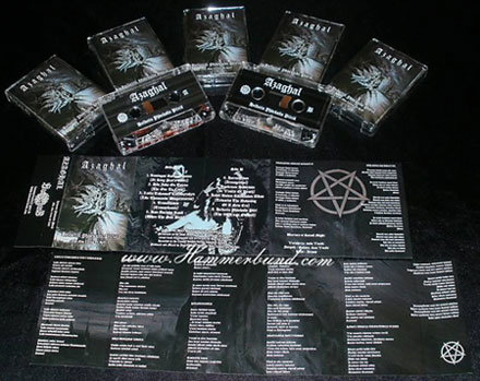 Azaghal - Helvetin Yhdeksän Piiriä (The Nine Circles of Hell) TAPE