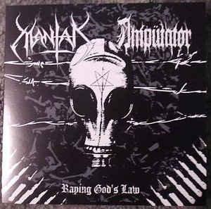 "Ampütator / Mantak – Raping God's Law 7""EP"