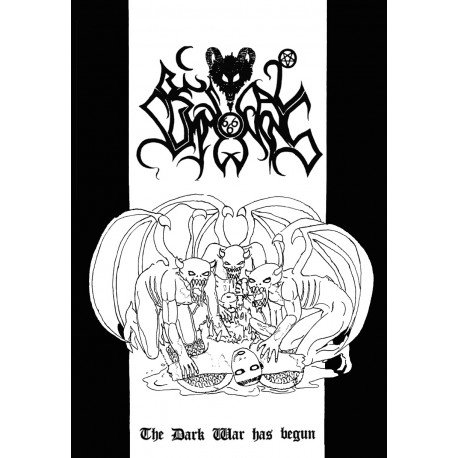 Bestial Summoning - The Dark War Has Begun TAPE