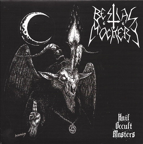 "Bestial Mockery / Karnarium - Hail Occult Masters 7""EP"