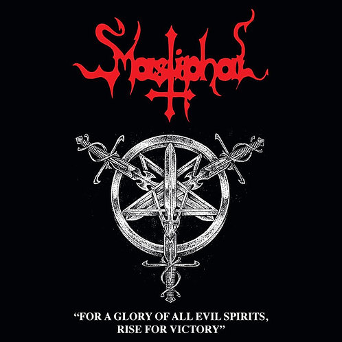 Mastiphal - For A Glory Of All Evil Spirits, Rise For Victory CD